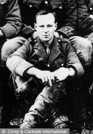 Lt Gower seated